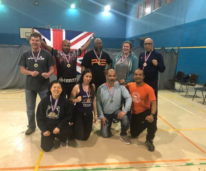 GSBA British Championships (April 2018)